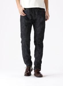 J266B L34 CIRCLE Tapered 16.5oz Cote d'Ivoire Cotton Monster Selvedge Jeans