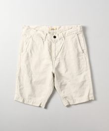 J326512 Cotton-linen Knee Shorts