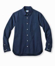 J353051 Indigo Dots Shirt