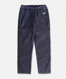 J757651 8oz Cote d'Ivoire Cotton Selvedge Denim Easy Pants