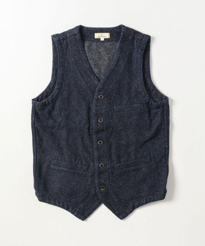 J427341 12oz Denim Tweed Urban Vest