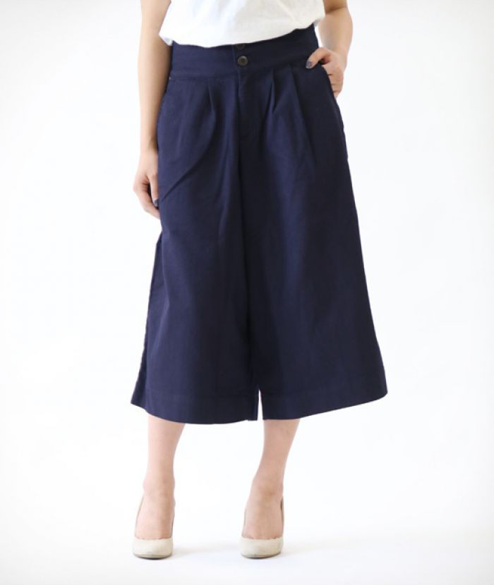 J58140J01 Wide Pants 6oz Hybrid Stretch