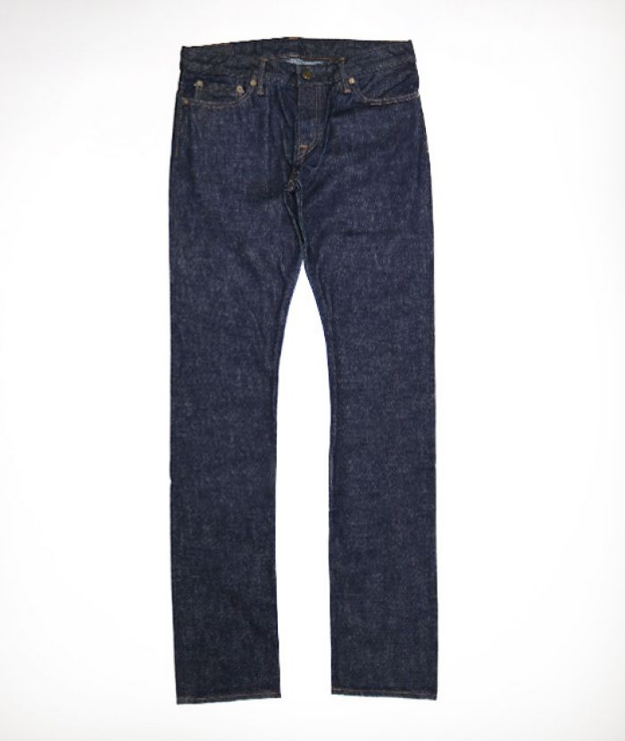 J6563JZS Women's Slim Tapered (Stitch) 13.5oz Côte d'Ivoire Cotton Vintage Selvedge Jeans