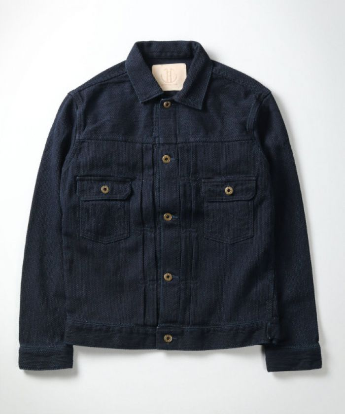 J382922 11oz Indigo Sashiko 2nd Type Jacket