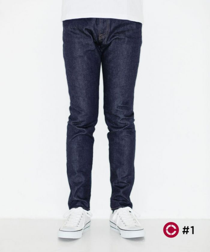 J105 CIRCLE Skinny 12.5oz Stretch Selvedge Jeans