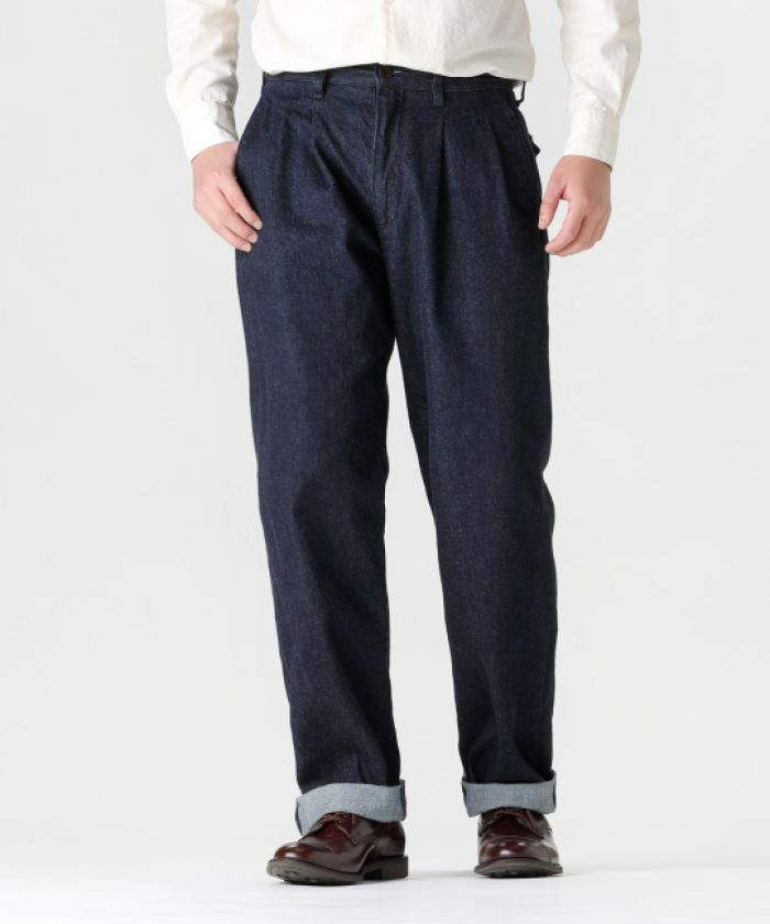 J807531 Denim Montpe Selvedge Denim Pants