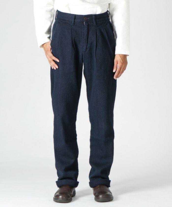 J802921 Indigo Sashiko Montpe Pants
