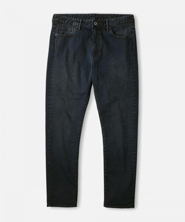 J8717BME CALIF. Black Melrose 12oz Easy Denim Tapered Jeans